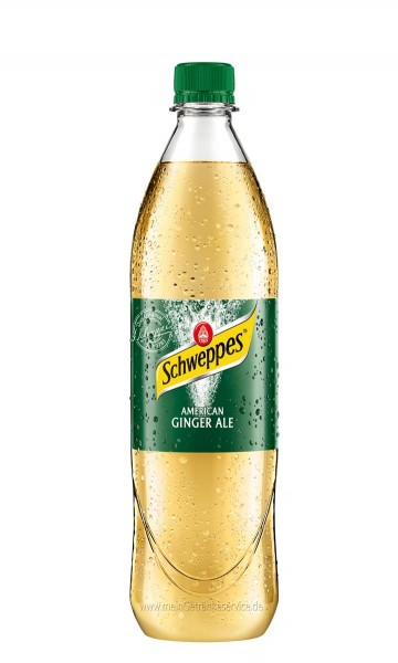 Schweppes American Ginger Ale 6x1,0l