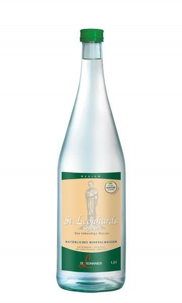 St. Leonhard Quelle MEDIUM 6x1,0l