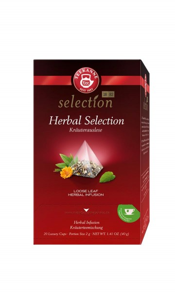 TEEKANNE Luxury Cup Herbal Selection 20er
