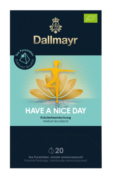 Dallmayr BIO Kräutertee Have a nice Day Tee 20x Pyramiden